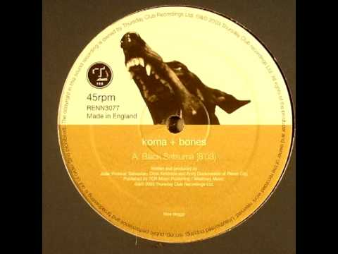 Koma & Bones - Black Satsuma