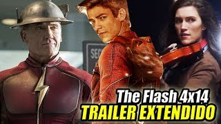 The Flash 4x14 TRAILER Extendido (Sub Español) - Fiddler Explicada Y ¿JAY GARRICK?