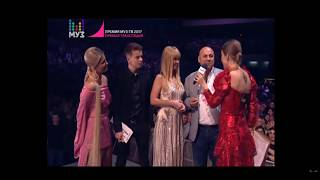 Блиц-опрос на Премии МУЗ-ТВ 2017