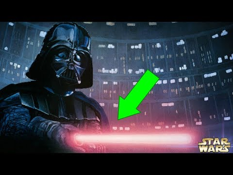Why Darth Vaders Lightsaber Is Sometimes Pink  Star Wars Explained
