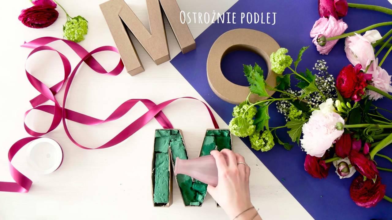 Prezent Na Dzień Matki Dekoracja Z Kwiatów Westwing Diy