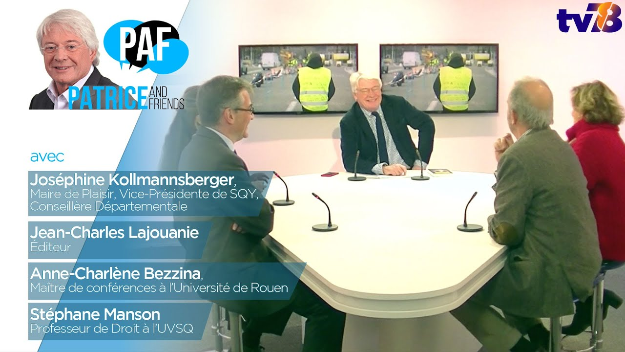 PAF – Patrice Carmouze and Friends – Emission du 14 décembre 2018