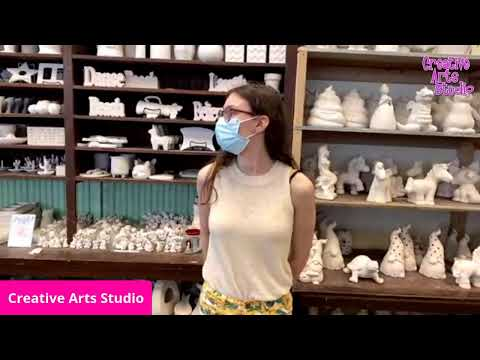 Pottery Art Kits To Go At Creative Arts Studio Delivery (USA Only) and Pickup