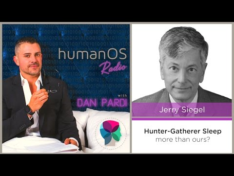 002. Professor Jerry Siegel, UCLA - Research on Hunter-Gatherer Sleep