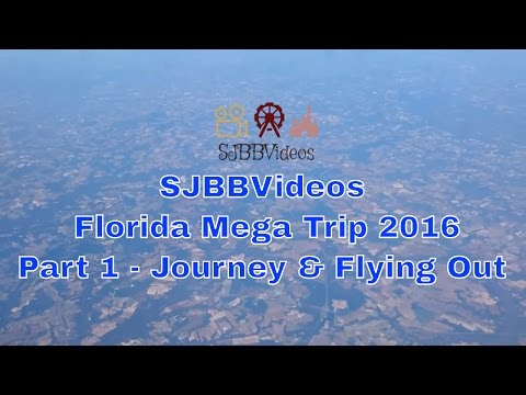 Florida 2016 Journey & Flying Out To Orlando | Virgin Atlantic Airlines | Virgin Holidays SJBBVideos