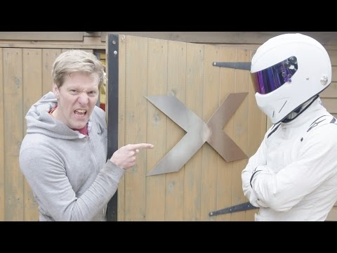 Colin Furze  BBC TOP GEAR Project #1 BIG ENGINE Small Bumper Car