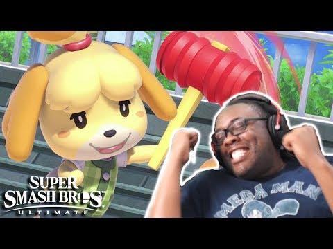 Isabelle in Smash Bros Ultimate! Luigi\'s Mansion 3! Nintendo Direct Take My Money! (Reaction)