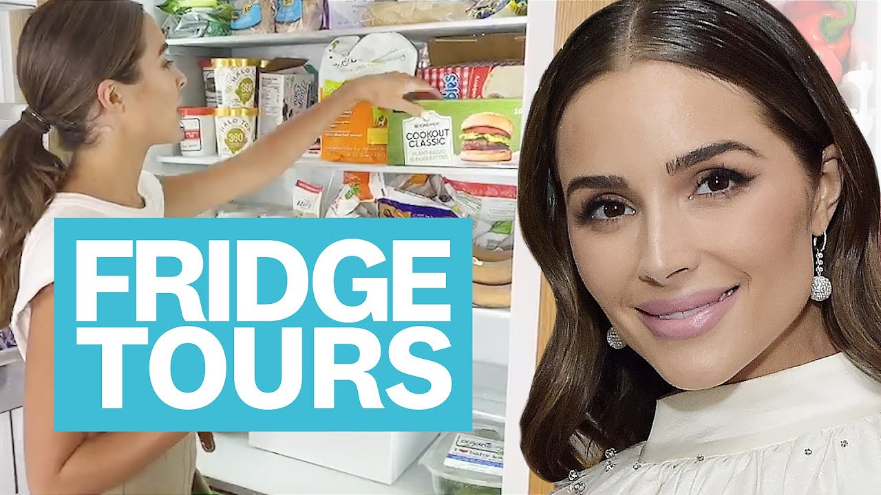 Olivia Culpo's Low Carb, High Protein Fridge Also Includes LOTS of Pickles | Fridge Tours | WH