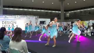 バトントワリングのパフォーマンス(さくらバトンクラブ東京) Sakura Baton Club Tokyo