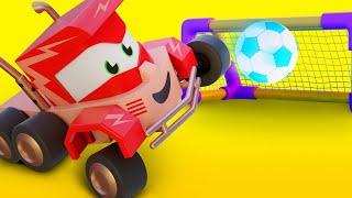 Мультфильмы с грузовиками для детей - Футбольный грузовичок - Truck Games