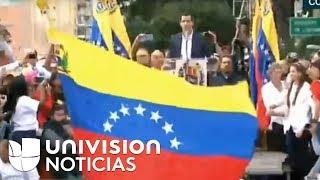 En vivo Venezuela en la calle pidiendo la salida de Maduro