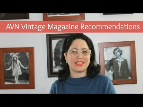 AVN Vintage Magazine Recommendations