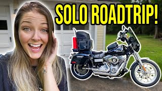 I'm riding SOLO from Ohio to Florida! Getting my bike ready for the trip!