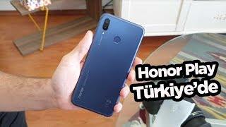 Honor Play Türkiye'de! Kutu açılışı (2800 TL)