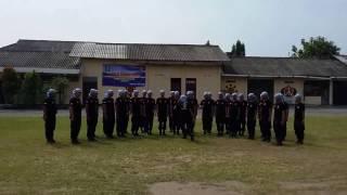 Aksi peserta SAMAPTA Kanwil Kemenkumham DIY 2017