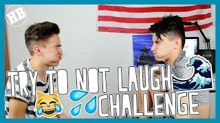 Try Not To Laugh Challenge 💦 | HalBer