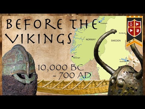 Before the Vikings // Evolution of the Viking Longship (10,000 BC-750 AD)