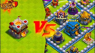 TOWN HALL 11 vs. MAX TOWN HALL 12! (Clash of Clans)