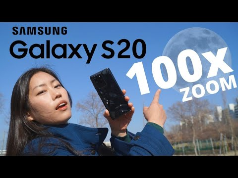 Samsung Galaxy S20 ULTRA | 100X SPACE ZOOM tested | Can it capture the MOON?