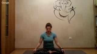 Онлайн занятие по йоге А.Сатара