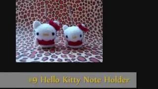 Amigurumi Hello Kitty Collection #1