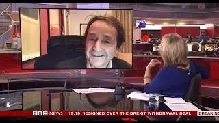 SIR Anthony Seldon  Speaks to Martine Croxall  (( BBC NEWS ))    16th November 2018  (( LATEST ))