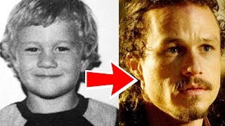 Heath Ledger from 1 to 28 years old