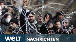 FLÜCHTLINGSKRISE IN GRIECHENLAND: Die Lage an der Grenze zur Türkei spitz sich zu