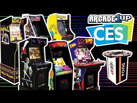 Arcade1Up CES 2021 New Cabinet Reveals! from COOLTOY