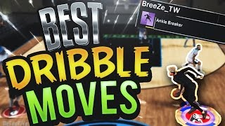 NBA 2K17 Tips: BEST DRIBBLE MOVE GUIDE - HOW TO DRIBBLE AND BREAK ANKLES IN MYPARK/PROAM!