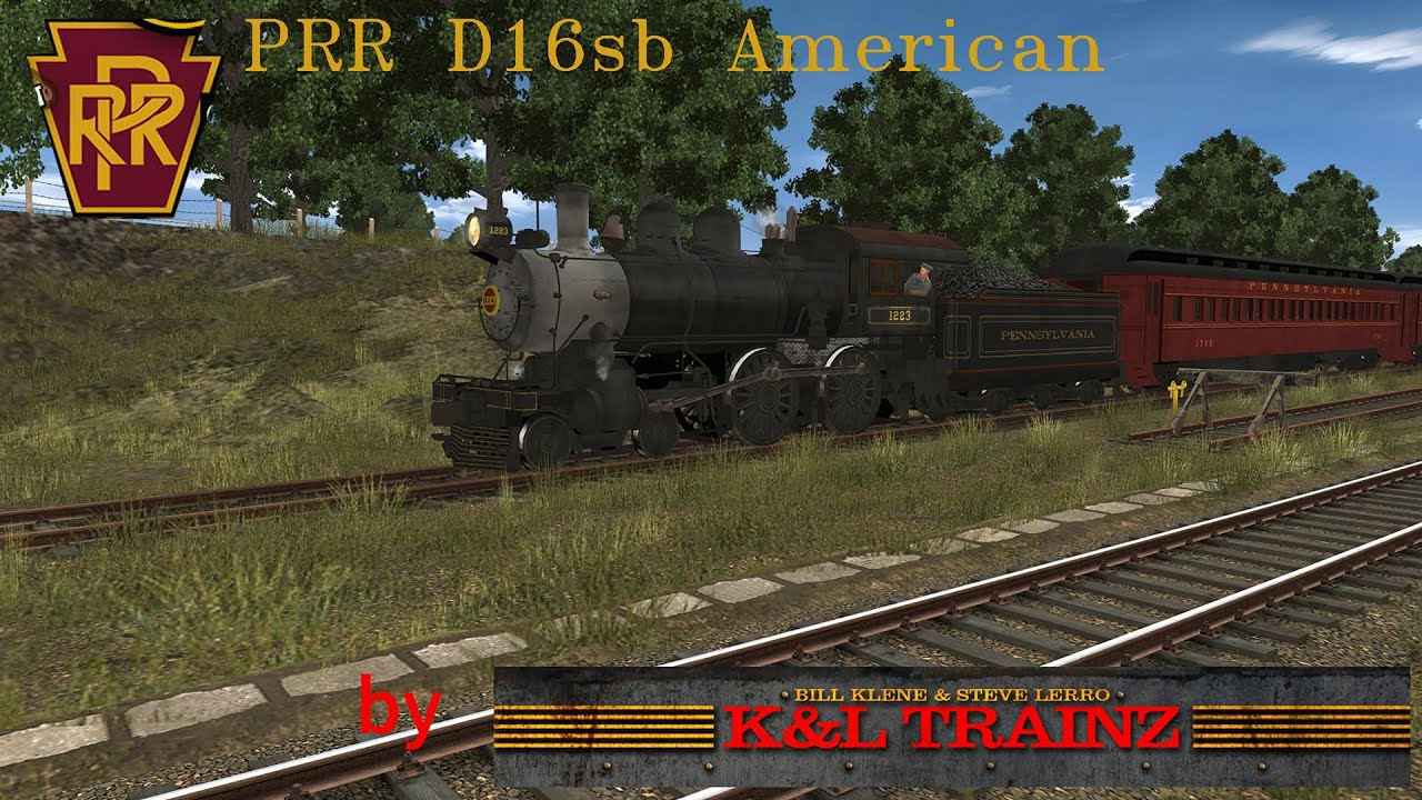 ***OBSOLETE VIDEOS*** Trainz - PRR D16sb American