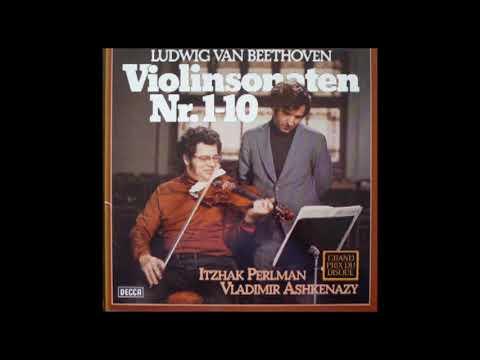 Vladimir Ashkenazy Itzhak Perlman Play Beethoven Violin Sonata