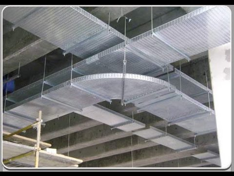 How To Install Perforated Cable Tray Easy Youtube