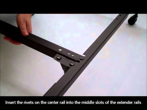 how to set up bed rails 1