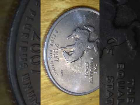 2007 quarter Wyoming error shadow take a look.