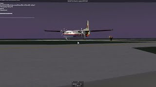 ROBLOX Tripreport | Malaysia Airlines (Economy) | Fokker F50
