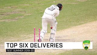 Bowled him! The best deliveries of the Aussie Test summer