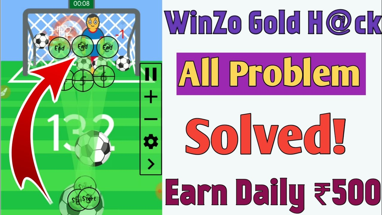 WinZo Gold H@ck Tricks All Problem Sloved | Win Daily ₹500 In WinZo Gold | TrickySK