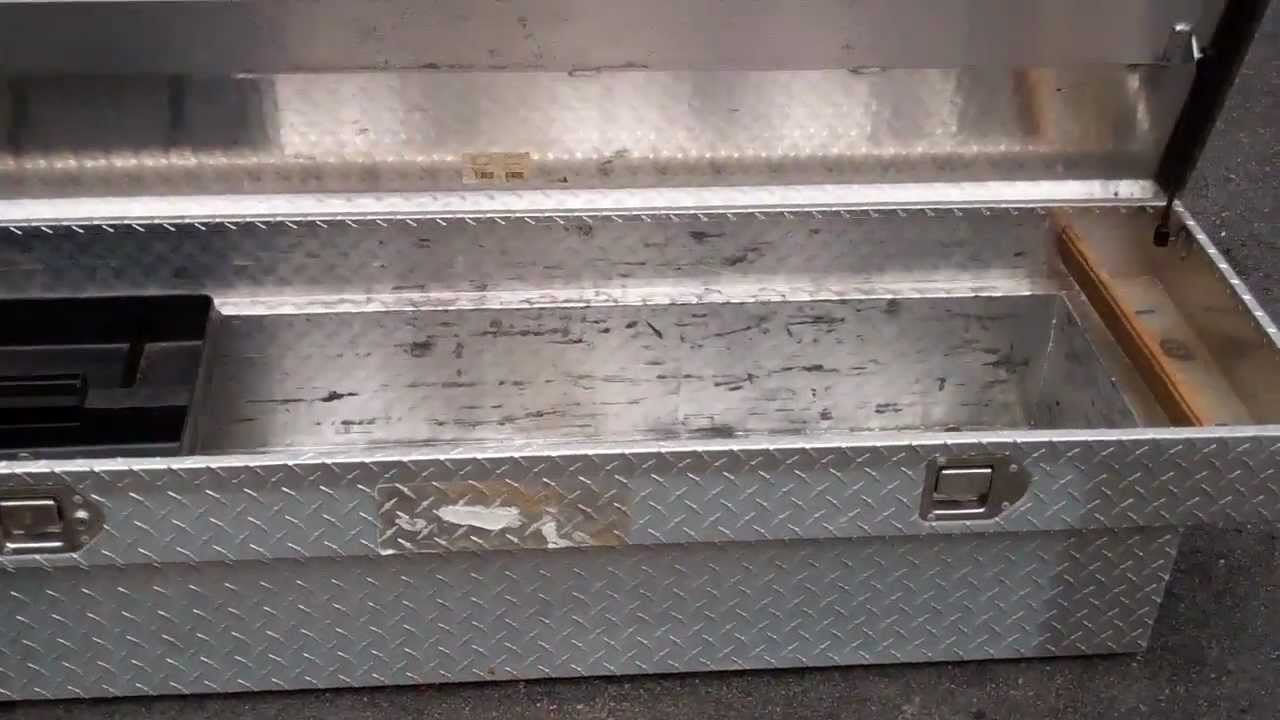 Truck Tool Box Diamond Plate Youtube