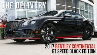 Overview of 2017 Bentley Continental GT Speed BLACK EDITION