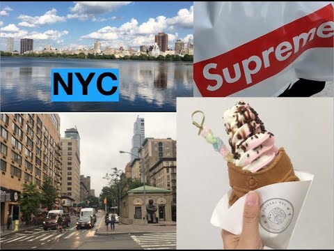 One Day in NYC - Supreme Store, Central Park, Shopping in SoHo