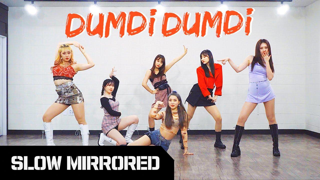 [SLOW] (여자)아이들 (G)I-DLE - '덤디덤디 (DUMDi DUMDi)' | 안무 배우기 느리게 거울모드 SLOW MIRRORED