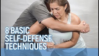 8 Simple SELF DEFENSE MOVES you need to know // Alice Dixson