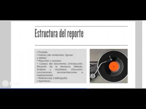 Guía para elaborar el Reporte de Lecturaиз YouTube · Длительность: 4 мин6 с