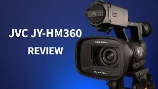 видеокамера JVC JY-HM360E обзор