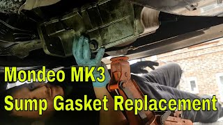 How to Replace a Sump Gasket Mondeo MK3 ST220