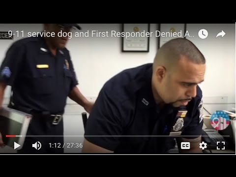 9-11 service dog and First Responder Denied Access to Major New York Hospital