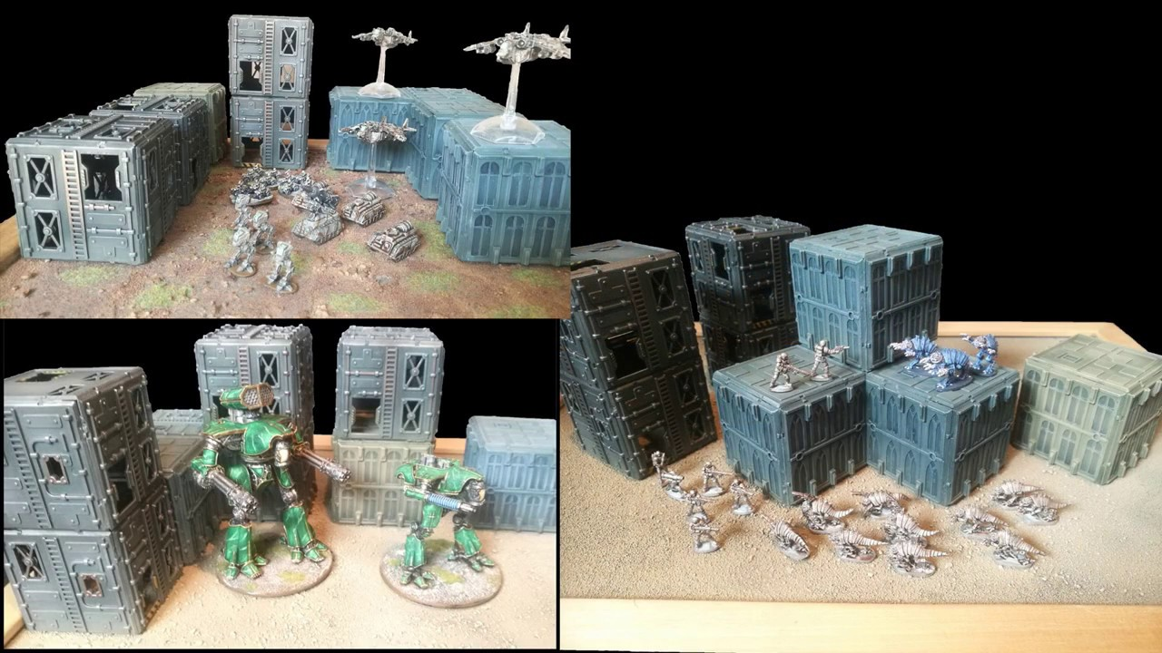 Small Scale Plastic Terrain Crowdfunder: Troublemaker Games