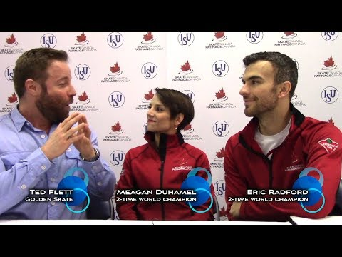 Golden Skate interview with Meagan Duhamel & Eric Radford