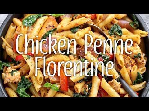Chicken Penne Florentine